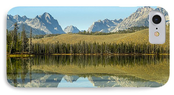Little Redfish Lake IPhone Case by For Ninety One Days