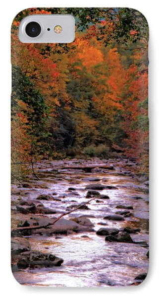 Little River In Autumn IPhone Case by Dan Sproul