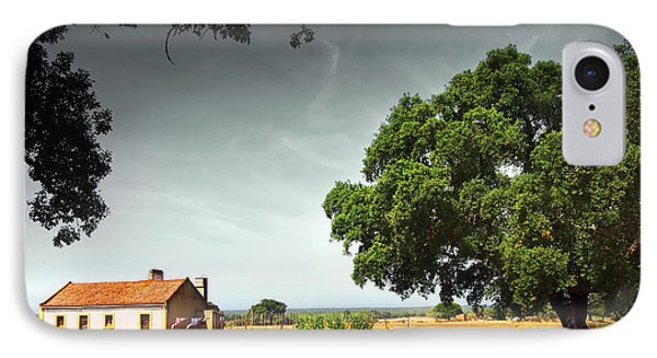 Little Rural House Phone Case by Carlos Caetano