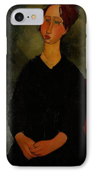 Little Servant Girl IPhone Case by Amedeo Modigliani