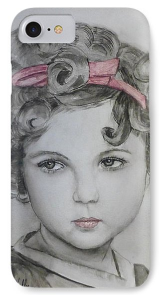 Little Shirley Temple IPhone 7 Case