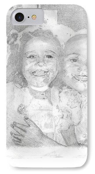 Little Sister Phone Case by Rebecca Christine Cardenas