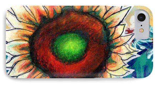 Little Sunflower IPhone Case by Genevieve Esson