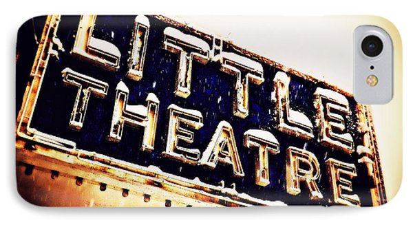Little Theatre Retro IPhone Case by James Aiken