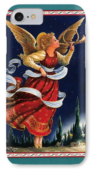 Little Town Of Bethlehem Phone Case by Lynn Bywaters