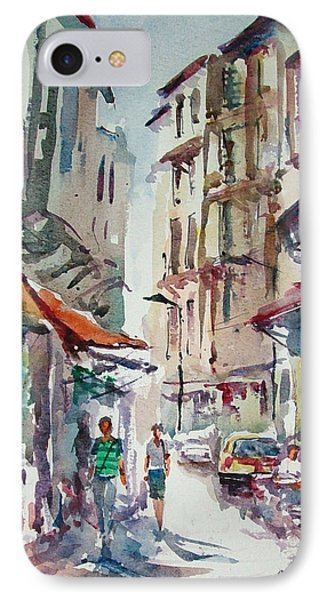 Little Trip At Exotic Streets In Istanbul IPhone Case by Faruk Koksal