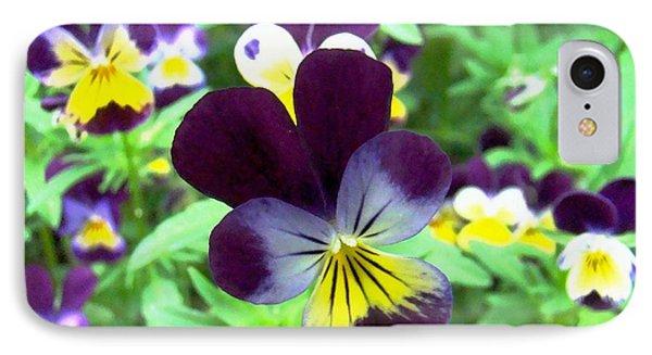 Little Violas IPhone Case