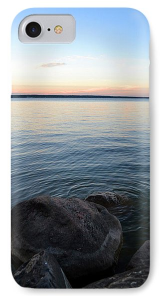 IPhone Case featuring the digital art Little Waves On The Water 2  by Lyle Crump