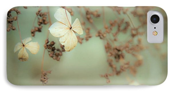 Little White Flowers - Floral - The Little Things In Life IPhone Case