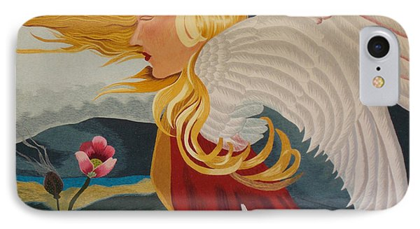 Little Wings Hand Embroidery Phone Case by To-Tam Gerwe