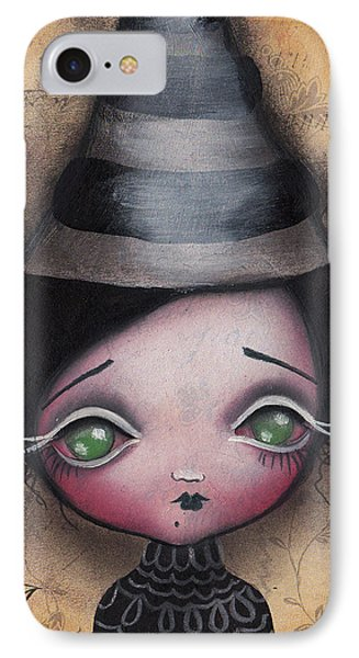 Little Witch IPhone Case by  Abril Andrade Griffith