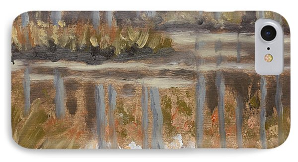 Little Woodland Pond IPhone Case by Alan Mager