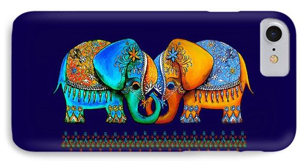 Littlest Elephant Love Links Phone Case by Karin Taylor