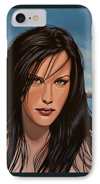 Liv Tyler IPhone Case by Paul Meijering