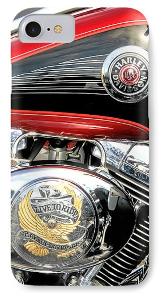 IPhone Case featuring the photograph Live To Ride  Ride To Live By David Lawrence by David Perry Lawrence
