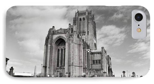 Liverpool Anglican Cathedral IPhone Case by David French
