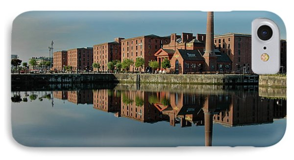 IPhone Case featuring the photograph Liverpool Canning Docks by Jonah  Anderson