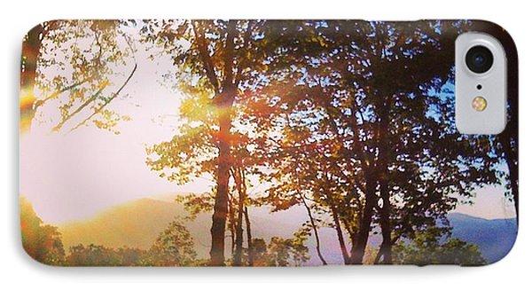 Livin A Mountain Morning IPhone Case