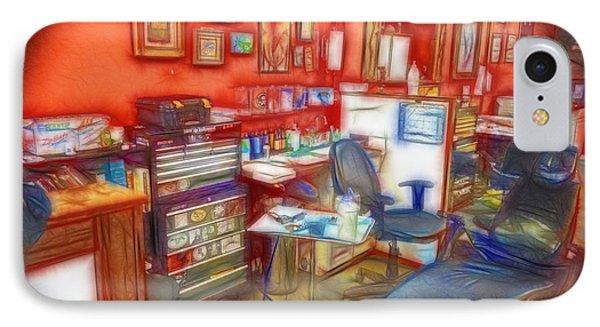 Living Canvas Phone Case by Cindy Nunn