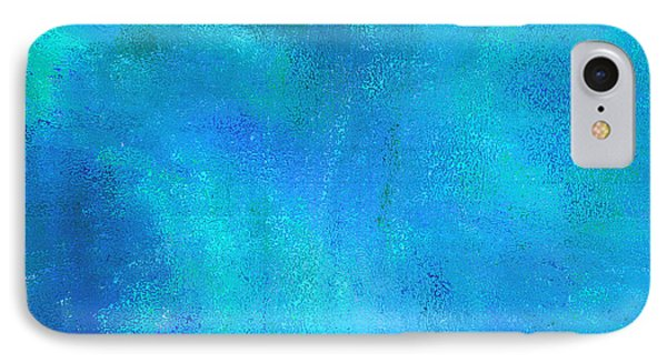 IPhone Case featuring the photograph Living In A Blue World by Ann Johndro-Collins