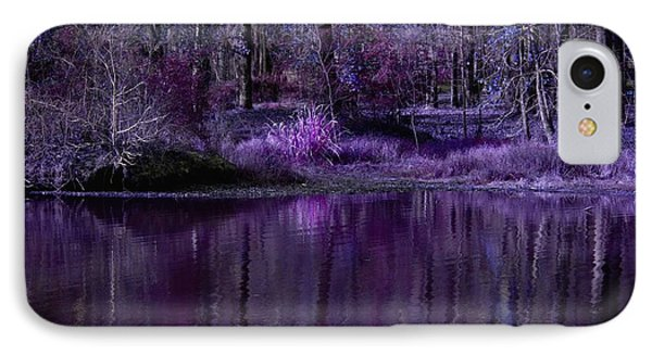 Living In A Purple Dream IPhone Case by Linda Unger