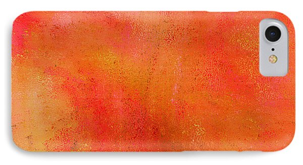 Living In A Tangerine World IPhone Case by Ann Johndro-Collins