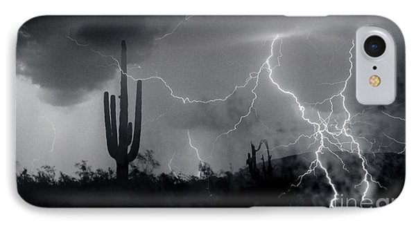 IPhone Case featuring the photograph Living In Fear by J L Woody Wooden