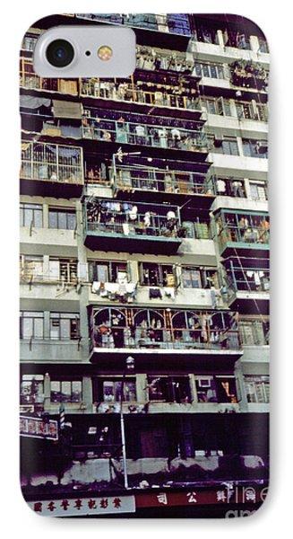 Living In Hong Kong Phone Case by Scott Shaw