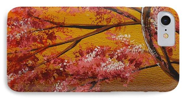 Living Loving Tree Bottom Left IPhone Case by Darren Robinson
