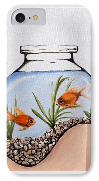 Life On The Edge IPhone Case
