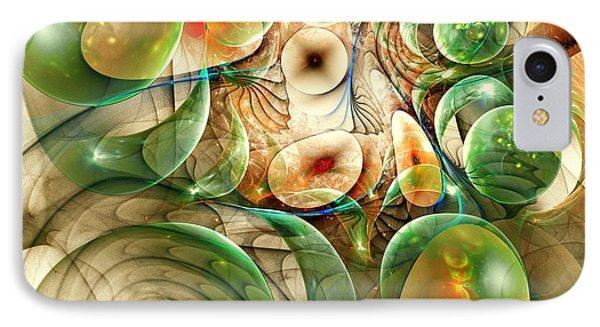 Living Organisms IPhone Case by Anastasiya Malakhova