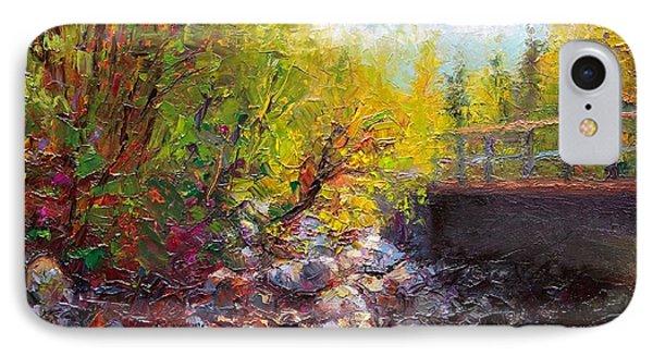 Living Water - Bridge Over Little Su River Phone Case by Talya Johnson