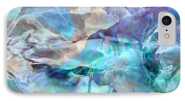 Living Waters - Abstract Art IPhone Case by Jaison Cianelli