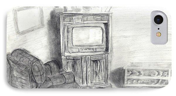 Livingroom IPhone Case by Angela Pelfrey