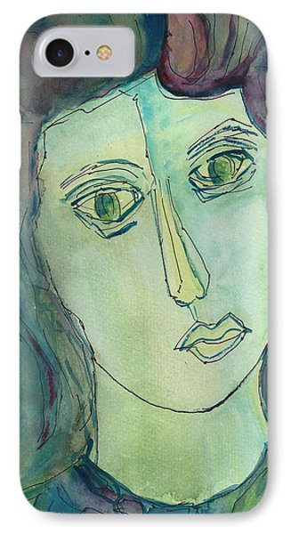 Liz  Phone Case by Oscar Penalber