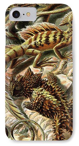 Lizard Detail II Phone Case by Unknown
