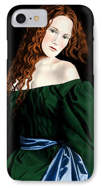 Lizzie Siddal Phone Case by Andrew Harrison