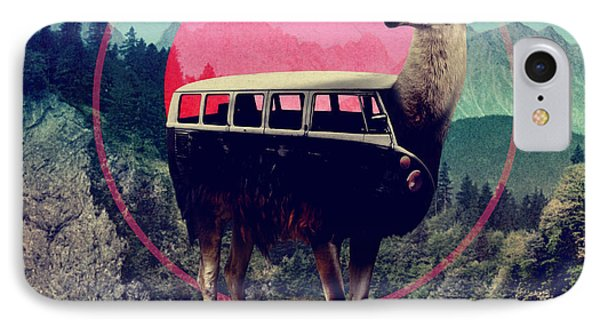 Llama IPhone Case by Ali Gulec