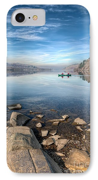 Llanberis Lake IPhone Case by Adrian Evans