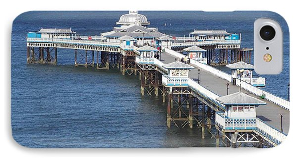 Llandudno Pier IPhone Case by Christopher Rowlands