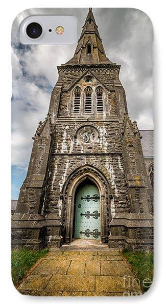 Llandwrog Church  IPhone Case