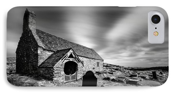 Llangelynnin Church Phone Case by Dave Bowman