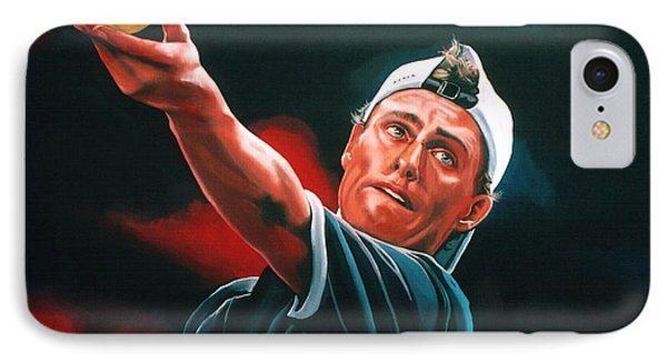 Lleyton Hewitt 2  IPhone 7 Case by Paul Meijering