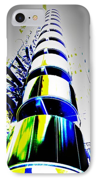 Lloyd's Building London Art Phone Case by David Pyatt