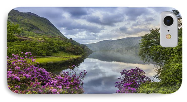 Llyn Gwynant IPhone Case by Ian Mitchell