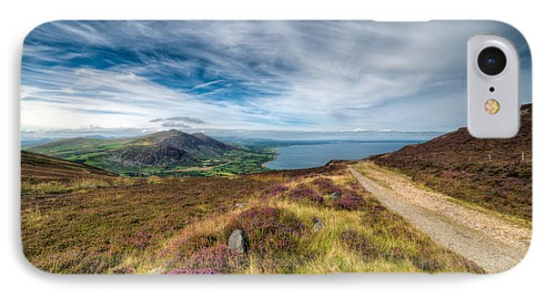 Llyn Peninsula IPhone Case by Adrian Evans