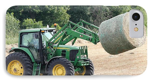 Loading Hay IPhone Case by J McCombie