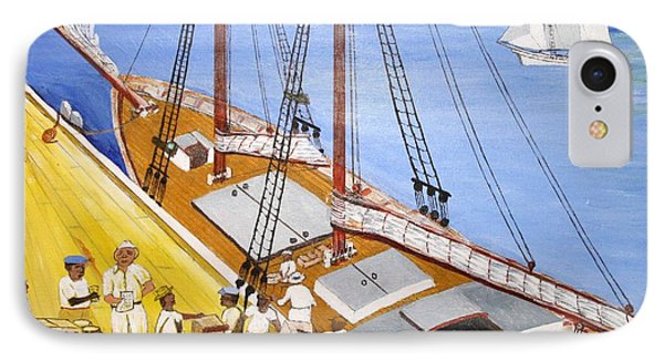 Loading The Sch. H.l.marshall At Jamaica IPhone Case
