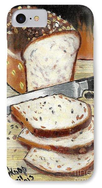 Loaf Of Bread Phone Case by Francine Heykoop