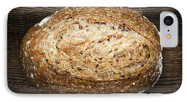 Loaf Of Multigrain Artisan Bread Phone Case by Elena Elisseeva